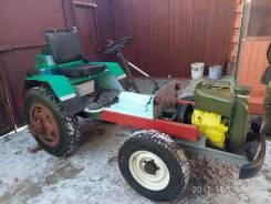 Самодельная модель. Продается самодельный мини-трактор, 1 000 куб. см.