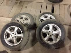 Продам зимние колеса 215/65 r16 стояли на форике. x16 5x100.00