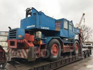 Komatsu LW250. Komatsu LW 250-2 1997, 26 000 кг.