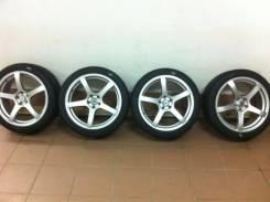 Продаю комплект колес диски с шинами 22540 R18. 7.0x18 5x105.00