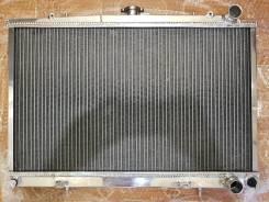 Радиатор охлаждения двигателя. Nissan Skyline, HNR32, HCR32, HR32, YHR32, ER32, BNR32, FR32, ECR32 Двигатель RB25DET