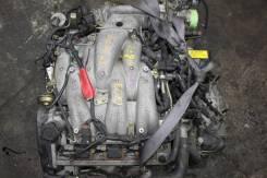 Двигатель+КПП MITSUBISHI 6G73 Контрактная