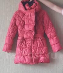 Пальто-пуховики. Рост: 140-146, 146-152 см