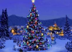 Дед Мороз и Снегурочка спешат поздравить ребят