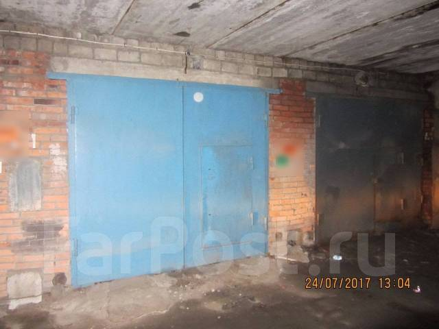 Гаражи капитальные. улица Леонова 33, р-н Эгершельд, 36 кв.м., электричество, подвал. Вид снаружи