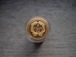 3 доллара 1870 год