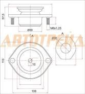Опора передней стойки TOYOTA PASSO/DAIHATSU BOON 04- LH=RH SAT ST-48609-B2030