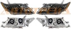 Фара TOYOTA CAMRY 06-09 черн. линзы тюнинг комплект R+L EAGLE EYES PF-EE-212-11Q6-BL