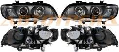 Фара BMW X5 01-03 черн. диоды тюнинг комплект R+L, левая