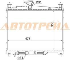 Радиатор TOYOTA YARIS/VITZ/ECHO/PLATZ 1/2SZ-FE 99-05 TY000W10-SZ