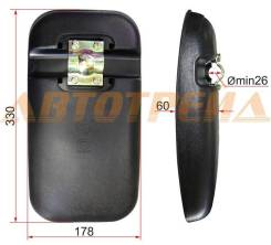 Зеркало заднего вида Nissan UD CW-520 (330x178 SR800) STSL1685