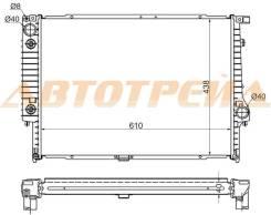 Радиатор BMW 5-SERIES E34 3.0/3.5 88-96/BMW E32 3.0/3.5 86-94