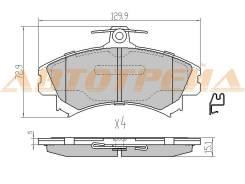 Колодки тормозные FR MITSUBISHI COLT VI 02-12 ST-4605A734