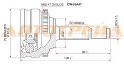 Шрус DAEWOO Nexia95-/Lanos 97- ABS