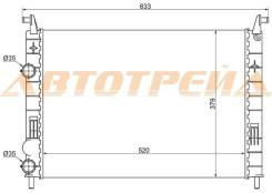 Радиатор FIAT ALBEA 03- FI0001