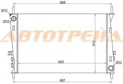Радиатор JAGUAR X-TYPE 2.0/2.0D/2.2/2.5/3.0 01-