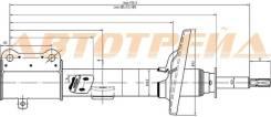 Стойка задняя TOYOTA COROLLA/LEVIN/SPRINTER/TRUENO87-92 RH