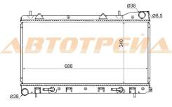 Радиатор SUBARU FORESTER/IMPREZA 97-02 турбо, бачки верх-низ SB0001-T