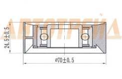 Обводной ролик приводного ремня BMW 3/5/7/X3/X5 1,6/1,8/2,0/2,5/3,0