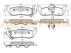 Колодки тормозные RR INFINITI QX56 VK56DE JA60