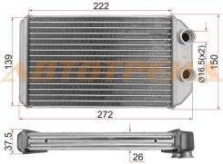 Радиатор отопителя салона TOYOTA COROLLA/SPRINTER/CARIB 95-00