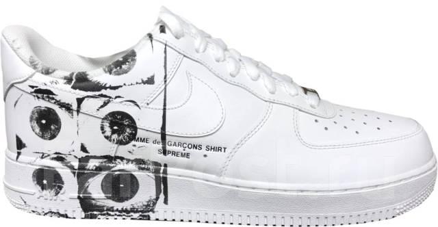 0e98b7e3 Кроссовки Supreme x Comme des Garcons Shirt x Nike Air Force 1 Low ...