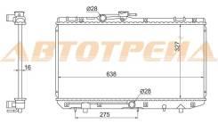 Радиатор TOYOTA STARLET #P80/#P90/SERA 89-99 TY0001-EP80