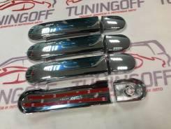 Накладка на ручки дверей. Nissan March, BK12, AK12, Z12, YK12, K12, BNK12