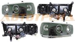 Фара TOYOTA LAND CRUISER 90-98 цельная черный линза тюнинг комплект R+L PF-SN-212-1173-BL