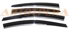 Ветровики HYUNDAI ELANTRA V/AVANTE 10- хром