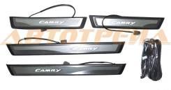 Накладка порога TOYOTA CAMRY 11- диодный комплект R+L