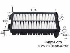 Фильтр воздушный. Subaru R2, RC2, RC1 Subaru R1, RJ1, RJ2 Subaru Stella, RN1, RN2 Двигатель EN07X
