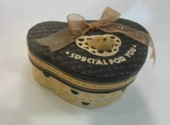 Подарочная коробочка Медведь 14.5*9.5*5.5см