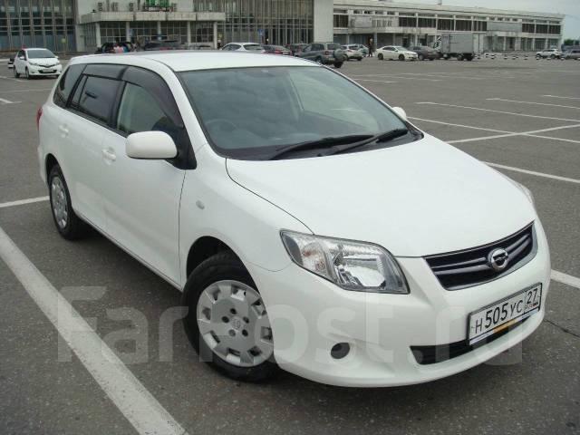 Toyota Corolla Fielder. Без водителя