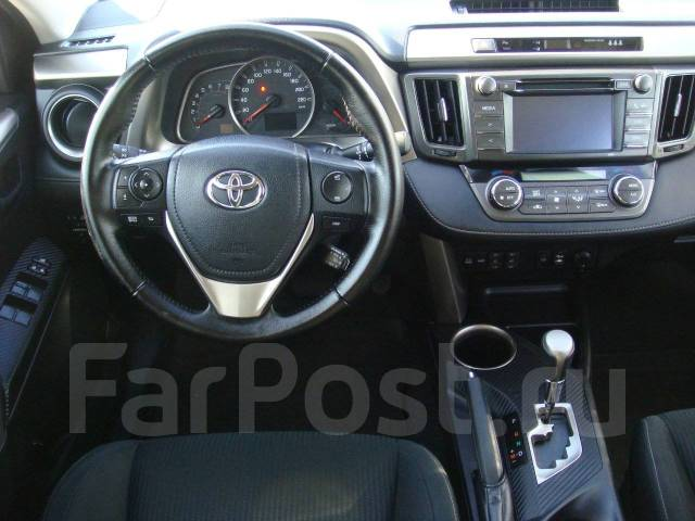 Toyota RAV4. Без водителя