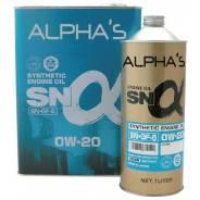 Alpha's. Вязкость 0W-20