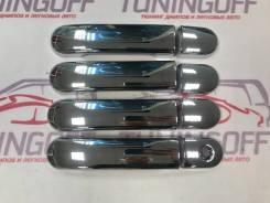 Накладка на ручки дверей. Nissan Cube, BZ11, YZ11, BNZ11