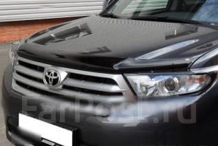 Накладка на фару. Toyota Highlander, ASU40, GSU40, GSU40L, GSU45, GVU48 Двигатели: 1ARFE, 2GRFE, 2GRFXE