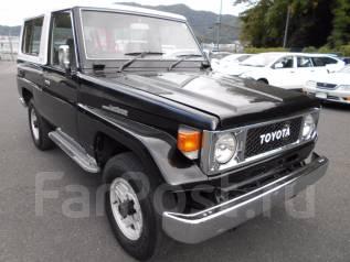Toyota Land Cruiser. BJ74V, 13B T