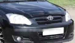 Накладка на фару. Toyota Corolla, NZE124, NZE120, NZE121, ZZE122, ZZE124 Toyota Allex Двигатели: 1NZFE, 2NZFE, 1ZZFE