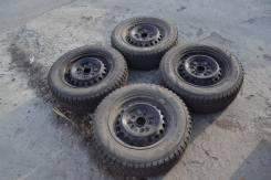 Комплект бюджетных колес на зиму на 14 5х114,3. 5.5x14 5x114.30