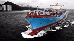 Отправка запчастей, распилов, нускатов, палетов контейнерами из Японии