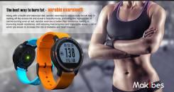 Фитнес часы Makibes Aerobic A1 с пульсометром