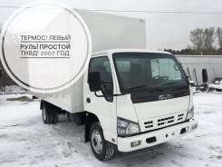 Isuzu NQR. 71 Термос 2007 год! Левый РУЛЬ. Простой ТНВД в Новосибирске, 4 600 куб. см., 5 000 кг.