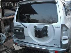 Дверь багажника. Mitsubishi Pajero, V63W, V65W, V66W, V68W, V73W, V75W, V76W, V78W Mitsubishi Montero, V63W, V65W, V66W, V73W, V75W, V76W, V78W Двигат...