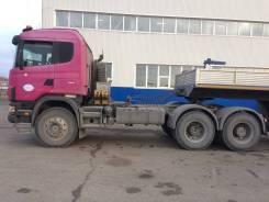 Scania. Skania R124CB6X6HZ 420, 11 700 куб. см., 25 000 кг.