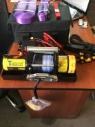 Лебедка переносная электрическая T-MAX ATW-PRO 2500 с синтетическим тросом