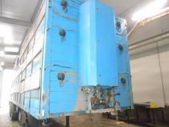 Pezzaioli. Полуприцеп-свиновоз SBA63, 29 800 кг.