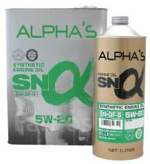 Alpha's. Вязкость 5W-20