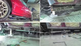 Изготовление, Замена кузовных порогов и арок